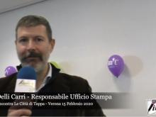 Intervista a Luca Delli Carri - Il Giro E incontra le città di Tappa - Uno sguardo con Liberi.tv