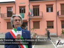Intervista al Sindaco Pasquale Taverna - Celebrazione del Bicentenario del Comune di Bianchi