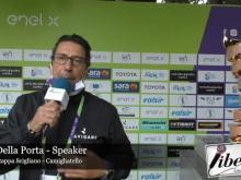Luca Della Porta - Speaker Giro E 4° Tappa: Scigliano - Camigliatello