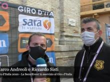 Marco Andreoli e Riccardo Sisti - Giro d'Italia 2020