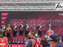 Giro d'Italia 2021 - Partenza da Frasassi - Tappa 6 (Grotte di Frasassi - Ascoli Piceno)