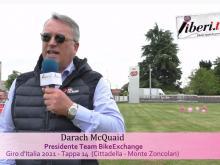Giro d'Italia 2021 - Intervista a Darach McQuaid - Tappa 14