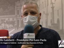 Intervista a Marcello Lamberti - Viaggio in Calabria