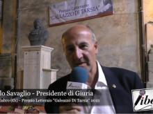 Antonello Savaglio - Premio Letterario Galeazzo Di Tarsia 2021
