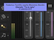 """Federico Tantillo ospita Massimo Bordin - """"Tra le righe"""" - Elleradio 22/09/2012"""