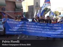 Fulvio Fiorelli, Sindaco Campagnano di Roma - XI Marcia per la Libertà dei popoli oppressi