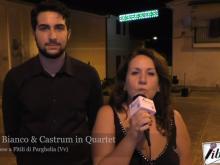 Intervista ad Angela Bianco & Castrum in Quartet - Festa in Paese a Fìtili di Parghelia -