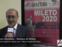 Intervista a Salvatore Giordano - Presentazione Tappa Giro d'Italia 2020 - Mileto Camigliatello Silano