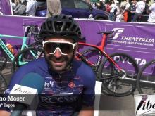 Giro E 2021 - Intervista a Moreno Moser - Tappa 9
