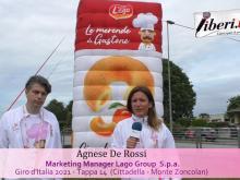 Giro d'Italia 2021 - Intervista a Francesco De Marco e  Agnese De Rossi - Tappa 14