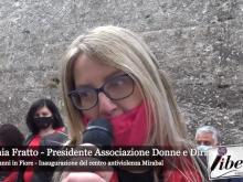 Intervista a Stefania Fratto - Inaugurazione centro antiviolenza Mirabal