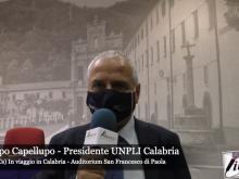 Intervista a Filippo Capellupo - Viaggio in Calabria