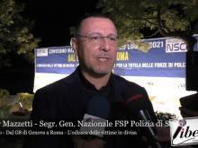 """Valter Mazzetti - Convegno """"Dal G8 di Genova a Roma - L'odissea delle vittime in divisa"""""""
