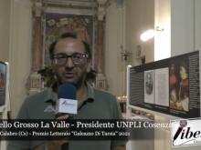 Antonello Grosso La Valle - Premio Letterario Galeazzo Di Tarsia 2021