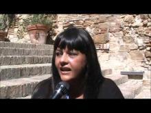 Intervista a Francesca Scoleri  - 7° Incontro Nazionale IDV • Vasto 22/09/12
