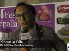8° Festival della cipolla - Intervista ad Antonello Grosso La Valle. Agosto 2019