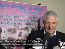 Intervista a Francesco Moser - Presentazione Tappa Giro d'Italia 2020 - Mileto Camigliatello Silano