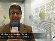 Intervista a Luca Della Porta - Il Giro E incontra le città di Tappa - Uno sguardo con Liberi.tv