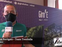 Giro E  2021 - Intervista ad Andrea Ferrigato