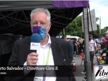 Giro E 2021 - Intervista a Roberto Salvador - Tappa 2