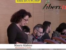 Maura Alabiso (M5S) - Seduta del Consiglio Municipale Roma VII del 21/01/2020