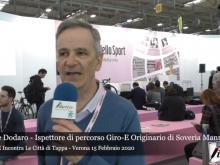 Intervista a Natale Dodaro - Il Giro E incontra le città di Tappa - Uno sguardo con Liberi.tv