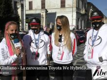 Marta Giuliano - La carovanina Toyota We HybridRace - Giro d'Italia 2020