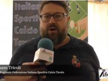 Intervista a Tommaso Tricoli - 4° Open FISCT dei due mari (Calcio tavolo) 9 -10 marzo 2019