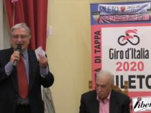 Presentazione Tappa Giro d'Italia 2020 - Mileto Camigliatello Silano