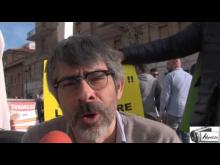 Alessandro Capriccioli, Segretario di Radicali Roma ad Ostia in una domenica di mobilitazione