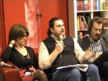 """Alessandro Chiometti alla presentazione del libro """"I Laic"""""""