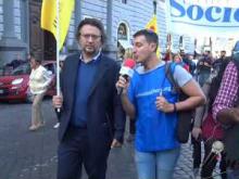 Intervista ad Alessandro Massari (Radicali Italiani) - X Marcia internazionale per la Libertà