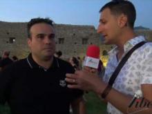 Intervista a Alessandro Mazzuca, SavuTo Events - Inaugurazione Castello di Savuto (Cleto)