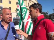Manifestazione 18 Luglio 2016 Slp Cisl - Intervista a Alfredo Santise (SLP Cisl Catanzaro)
