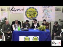 Presentazione della Lista Radicale - Amnistia Giustizia Libertà - Scalea (Cosenza)