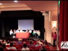 Un momento del convegno presso il teatro Comunale a Massafra