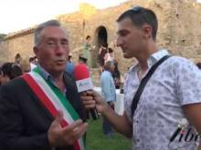 Intervista a Bruno Francesco, Sindaco di Belmonte Calabro - Inaugurazione Castello di Savuto (Cleto)