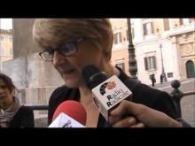 Cannabis: Italia chiama USA. Attesa e conclusione - Manifestazione antiproibizionista a Montecitorio