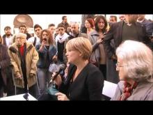 Cannabis: Italia chiama USA. L'antefatto - Manifestazione antiproibizionista a Montecitorio