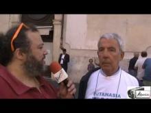 Carlo Troilo - Walk Around per l'Eutanasia legale organizzato dall'Ass. Luca Coscioni 11/09/14