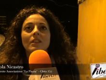 """Photocunti 2018 - Intervista a Carola Nicastro (Associazione """"La Piazza"""")"""
