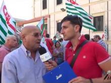 Manifestazione 18 Luglio 2016 Slp Cisl - Cataldo Pinacchio (Coordinatorere Nazionale Quadri SLP Cisl Catanzaro)