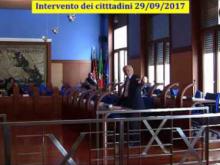Seduta del Consiglio Municipale Roma VII del 28/09/2017 (Intervento dei cittadini)