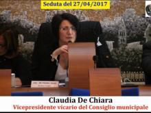 Seduta del Consiglio Municipale Roma VII del 27/04/2017