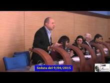 Seduta del Consiglio Municipale Roma VII del 9/04/2015 parte 1 di 3