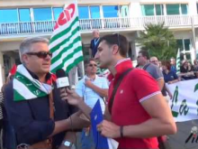 Manifestazione 18 Luglio 2016 – Intervista a Dario Filice Segretario Provinciale SLP Cisl Catanzaro.