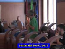 Seduta del Consiglio Municipale Roma VII del 30/07/2015 Parte 2 di 2