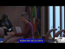 Seduta del Consiglio Municipale Roma VII del 18/12/2014 Parte 1 di 2