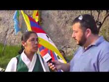 VI Marcia Internazionale per la Libertà - Intervista a Dechen Dolkar