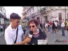Intervista a  Dolores De Marco (A.GE.D.O.) - Calabria Pride 2014 (Reggio Calabria)
